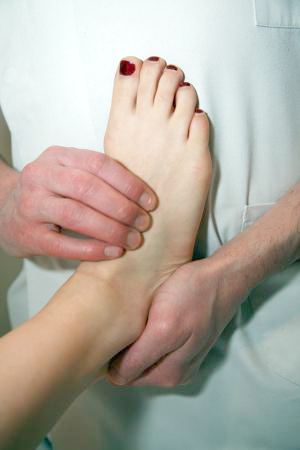 osteopathic treatment foot