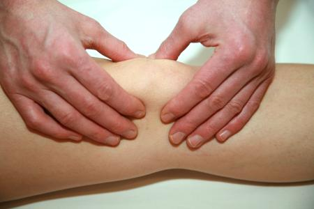 Treating knee pain at our Osteopathy Clinic in London