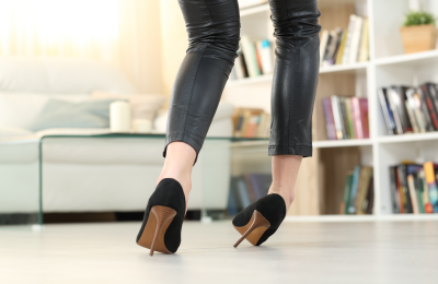 What is the perfect heel height?